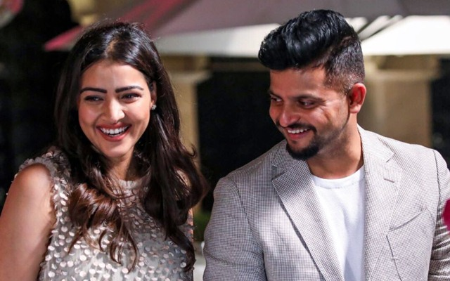 Suresh Raina and Priyanka Raina