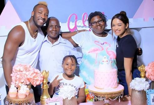 Andre Russell Wife